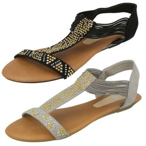 Gentlemen/Ladies Spot On sandalias planas and para mujer Adequate supply and planas timely delivery Let our goods go to the world Acknowledgement feedback 5fdc23