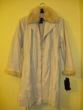 Womens winter%100 Croco genuine leather trench style jacket faux fur coat plus2X