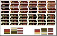 1:6 Dragon WWII Russia Armor insignia set for dragon and others