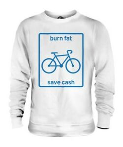 Save Unisex E I Fitness Grassi Regalo Denaro Brucia Ciclismo Maglione xqwtSXU