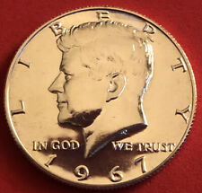 1967 SMS SILVER PROOF-LIKE GEM KENNEDY HALF DOLLAR ?VERY RARE IN THIS CONDITION?