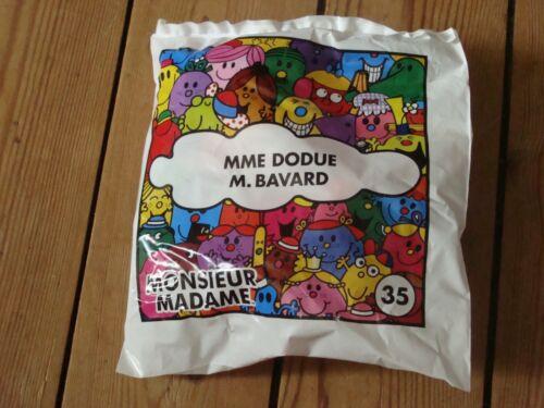 happy meal mac  do donalds JOUET MONSIEUR MADAME 2019 neuf scellé numéro 35