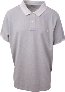 Timberland-Men-039-s-Heather-Grey-S-S-Polo-Shirt-Retail-55-S07