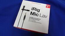 IK Multimedia iRig Mic Lav Kondensatormikrofon Microphone