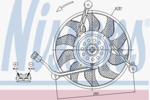 Nissens 85618 Lüfter Motorkühlung