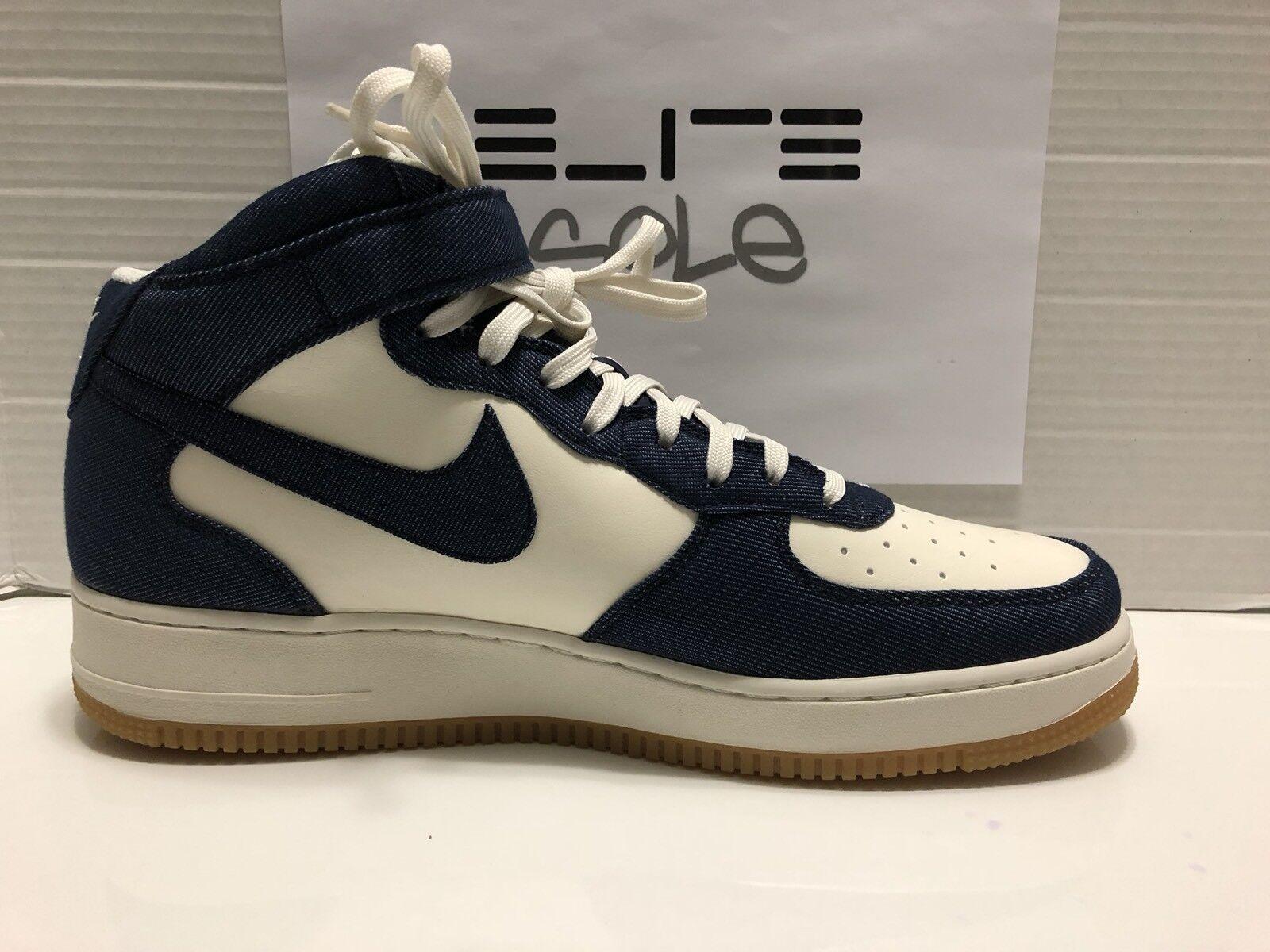 Nike air force 1 met 2007 denim sz ossidiana navigare [315123 408] sz denim 13 5f677e