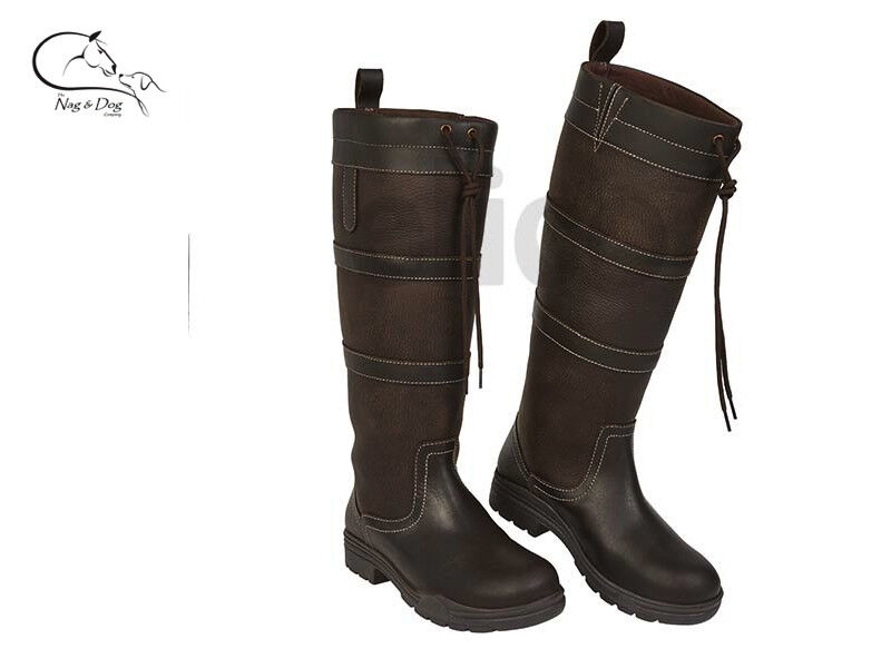 Elico Kirkstall waterproof long country riding boots, walking FREE DELIVERY