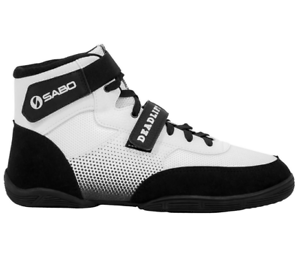 WHITE COLOR SABO Deadlift deadlifting powerlifting crossfit shoes ALL SIZES
