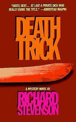 Death Trick Paperback Richard Stevenson