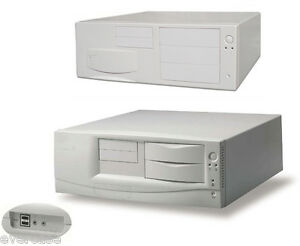 Vintage-Full-size-ATX-Chassis-Desktop-Computer-Case-PC-Chassis-Beige-New