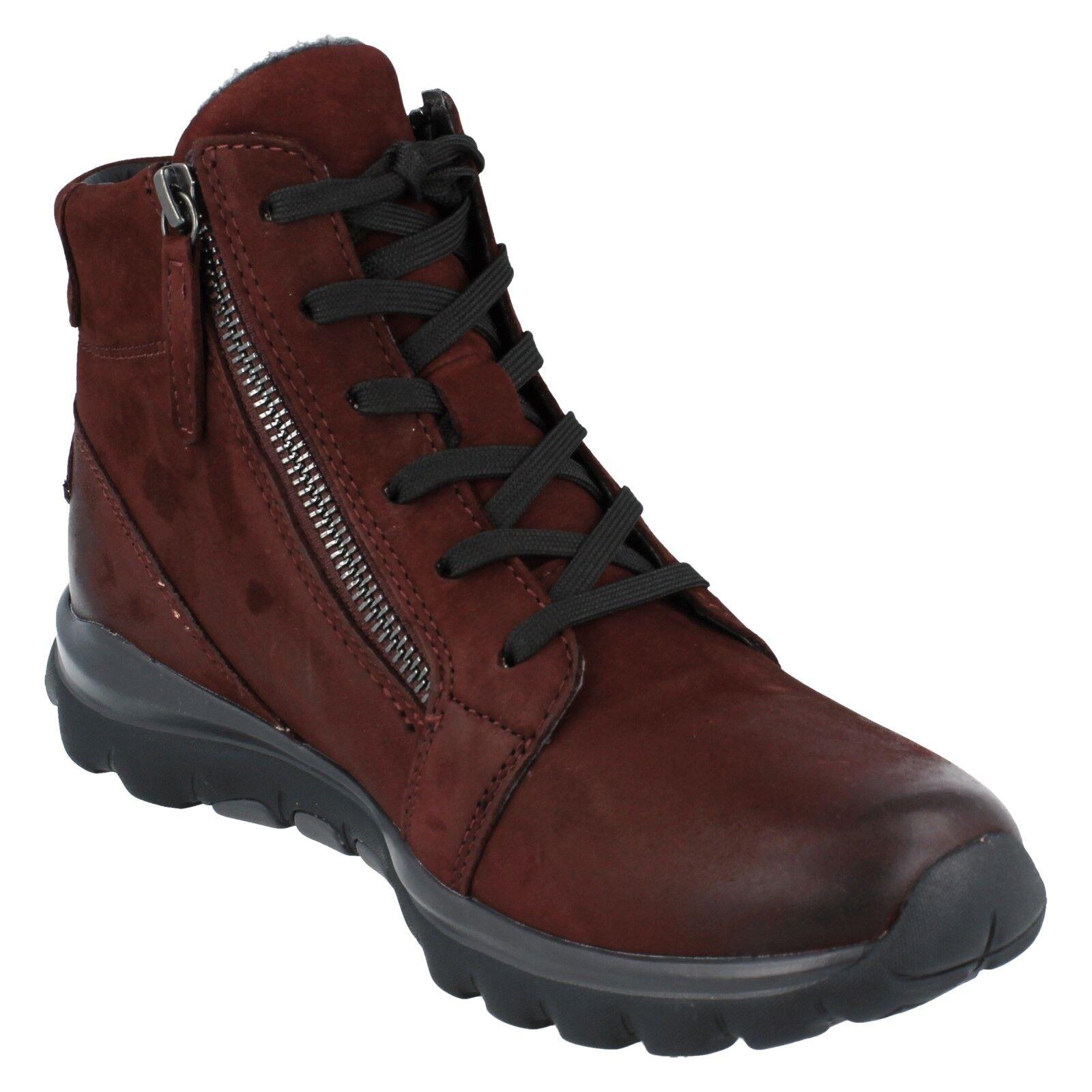 Ladies Gabor Rolling Soft Soft Soft Walking Boots - 96958 edbaad
