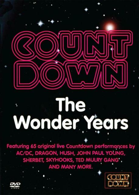 COUNTDOWN - THE WONDER YEARS VOL 1 - NEW & SEALED REGION 4 DVD