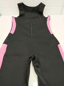 Brabic Women's Full Body Shapewear Sport Sweat Neoprene Suit,Waist Large (New)
