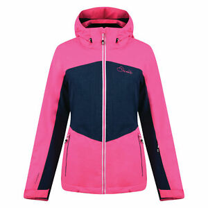 b233a1d210 Image is loading Dare2b-Beckoned-II-Ski-Jacket-Womens-Waterproof-Breathable