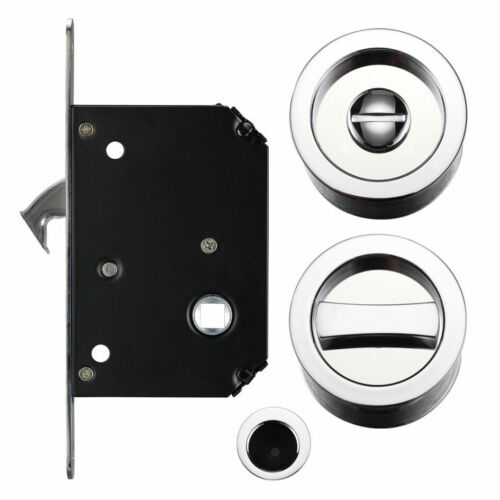 Sliding Door Lock Set Suitable for 35mm 45mm Thick Doors Various Finishes