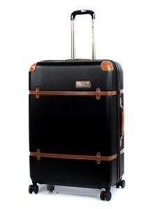 Oceanic-TRANS-CANADA-24-034-Spinner-Expandable-Luggage-Black