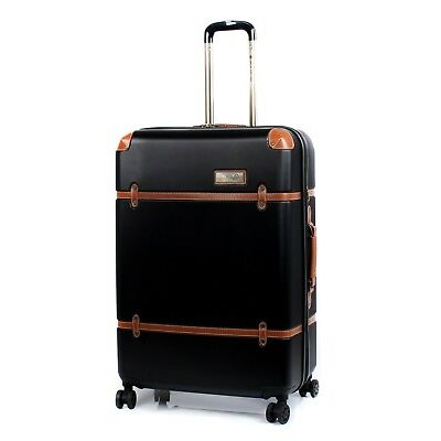 "Oceanic  - TRANS CANADA  24"" Spinner Expandable Luggage Black"