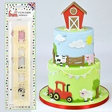 FMM Cute Farm Animals Cutters Sugarcraft Cake Decorating    Next Day Despatch