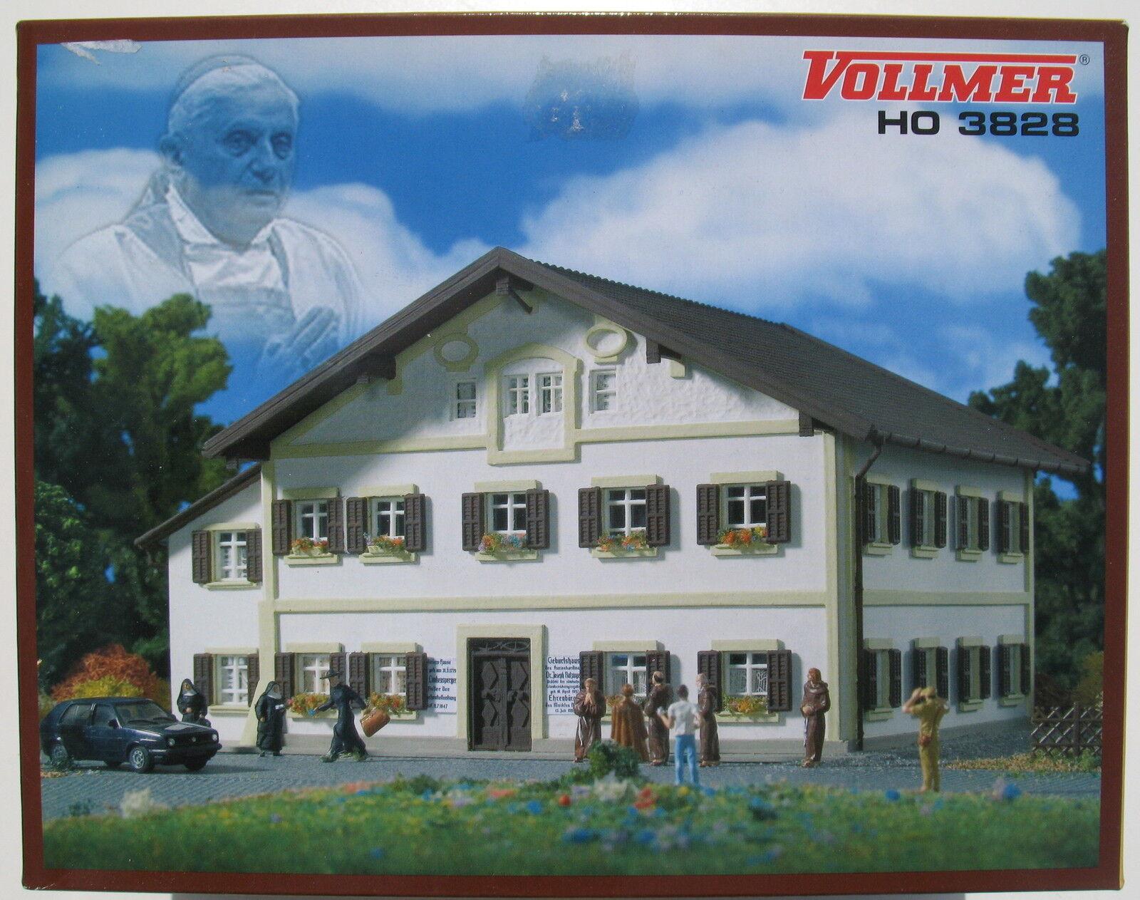 VOLLMER 3828 - Geburtshaus Papst Benedikt - Spur H0 - Eisenbahn Modellbausatz  | Grüne, neue Technologie