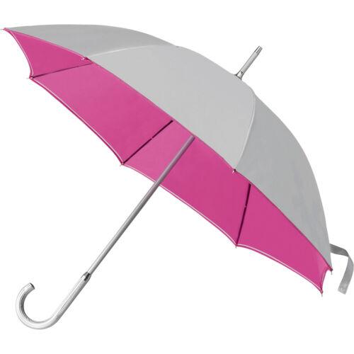 aluminium crooked handle Wedding Bicolour classic manual umbrella 104 cmØ