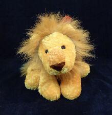 "13"" Mary Meyer Flip Flops Plush Lion w/ Bow- Stuffed Animal Bean Bag Floppy 3+"