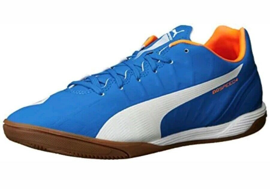 PUMA Men's Evospeed 4.4LT Soccer Shoe - electric blue size 9.5 The latest discount shoes for men and women
