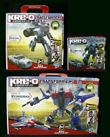 3 Kre-o Transformers - Starscream Autobot Jazz Prowl Kreo 30667 30690 31146