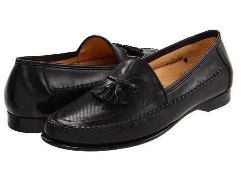 sconti e altro Bruno Magli Uomo German nero Leather Slip On On On Dress Casual Loafer scarpe 9  460  risparmia fino al 70% di sconto