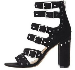 e5729f33c71374 Women s Shoes Sam Edelman YORK Gladiator Sandals Heels Studs Suede ...