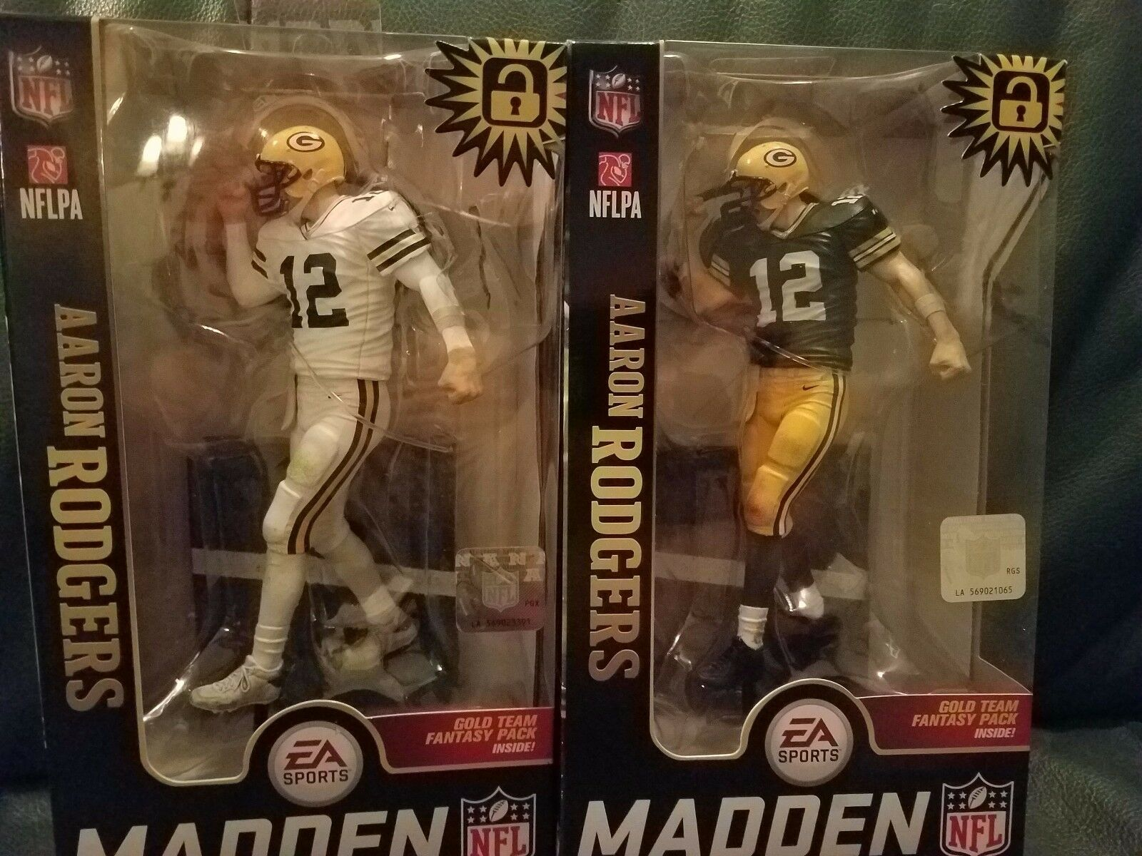 McFarlane 2018 Ultimate Madden Aaron Rodgers verde Bay Packers 1 reg 1 chase