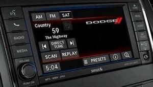 Details about Jeep Dodge Chrysler MyGig Radio CD DVD Low RBZ PATRIOT  CHALLENGER 430 CHARGER