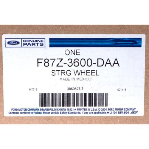 Genuine Ford Steering Wheel F87Z-3600-DAA