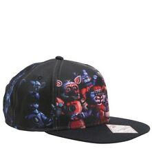 Five Nights At Freddy's Sister Location Group Shot Snapback Hat New With Tags!