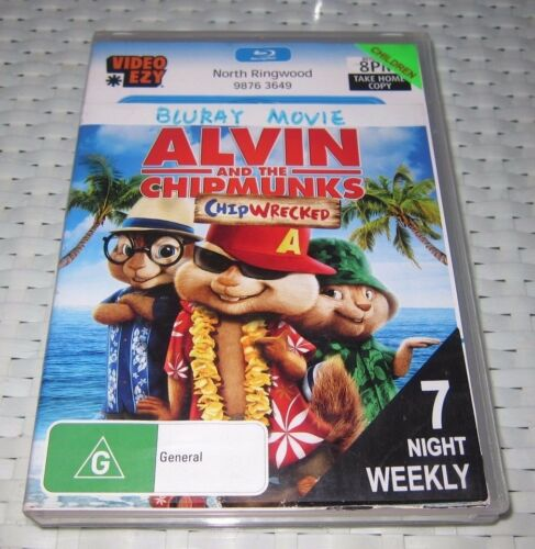 1 of 1 - Alvin And The Chipmunks - Chipwrecked - Blu-ray, 2012 - ede