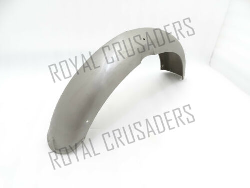 NEW NORTON FEATHERBED DOMINATOR 88 500CC FRONT MUDGUARD RAW STEEL @PUMMY