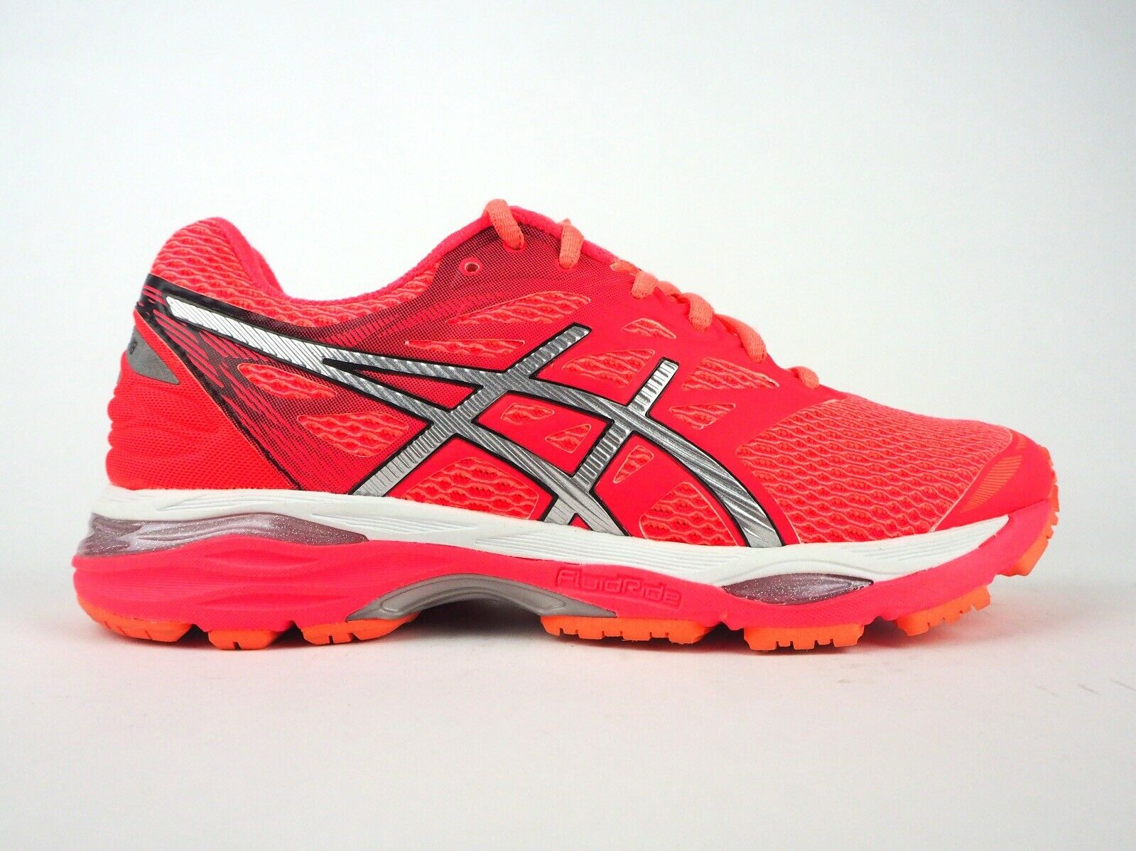 damen Asics Gel Pulse 9 T7D8N 9006 Flash Coral Lace Up Running schuhe