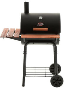 Image Is Loading Char Griller Wrangler Charcoal Grill Heat Gauge Hitch