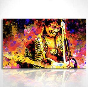 Details zu Bild Musik Leinwand Musiker Kunst Bilder Wandbild Kunstdruck  D0056