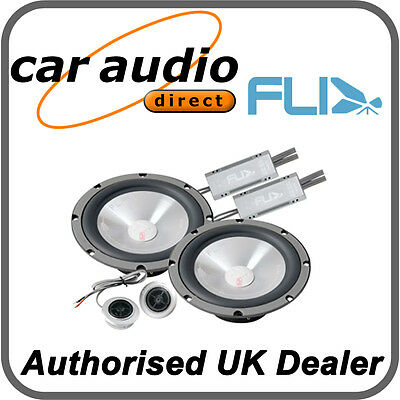 "FLI FI6Comp-F3 Car Audio Component 2 Way Speakers Set 6.5"" 255W 165mm Door Dash"