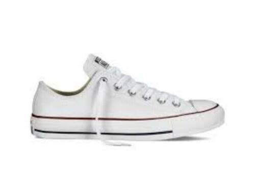 Mens Converse Ox New 11 Chuck 7 132173c 5 Leather Taylor Trainer Bianco Lo Scarpe qSx5HTd5