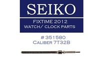 Seiko Chrono Caliber 7t32b Winding Stem Watch Movement Part 351580 Made Japan
