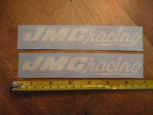Details about 2x OLD SCHOOL JMC RACING DECAL SET VINTAGE BMX OLD SCHOOL  HUTCH PK RIPPER JMC