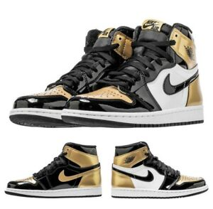 e1b692e2c250 NIKE AIR JORDAN 1 RETRO HIGH OG NRG GOLD TOE size UK-11