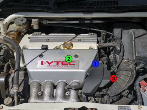 K20 Idle Air Assist Valve Delete Kit Blackout Bypass Honda EP3 DC5 Civic Integra