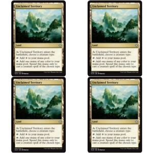 4-x-UNCLAIMED-TERRITORY-NM-mtg-Ixalan-Land-Unc