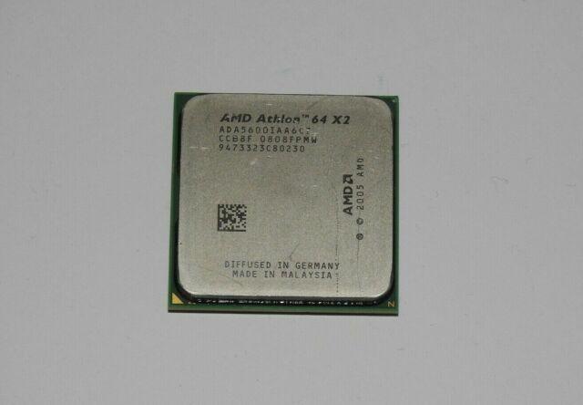 AMD Athlon 64 X2 5600+ 2,8 GHz (ADA5600IAA6CZ) Prozessor AM2 + Wärmeleitpaste