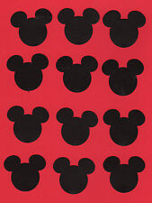 Mickey Mouse  Die Cuts - Mickey Mouse Head Die Cuts - you choose size - Disney