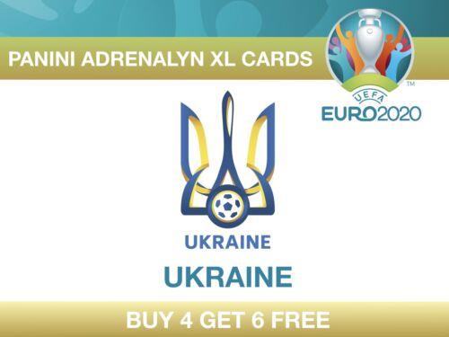 Panini UEFA Euro 2020 Adrenalyn XL Cards UKRAINE