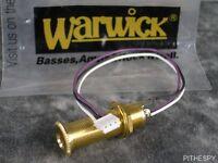 Warwick Input Stereo Jack Gold Spw50100gr4 / M50100gr4 Streamer Guitar Part