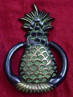 Brass Door Knocker Fruit Pineapple Handmade Victorian Style Home Door Bell CJ34